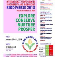 BioDiverse 2018 Inational Sym. on Biodiversity and Biobanking