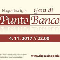 Nagradna igra v igri punto banco  Gara di Punto Banco