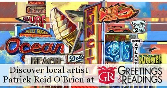 Art signing my town art at greetings readings hunt valley art signing my town art m4hsunfo