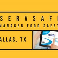 Dallas TX ServSafe Manager Food Safety Class and Exam