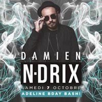 Damien N-Drix at BOKAOS  Samedi 7 Octobre