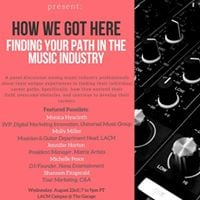 WIMLA How We Got Here Finding Your Path in the Music Industry