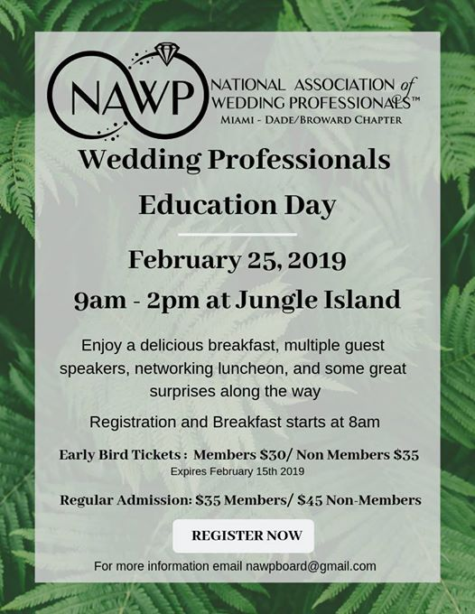Wedding Professionals Education Day
