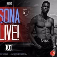 SONA performing Live Cokobar Bham Activated at Club101