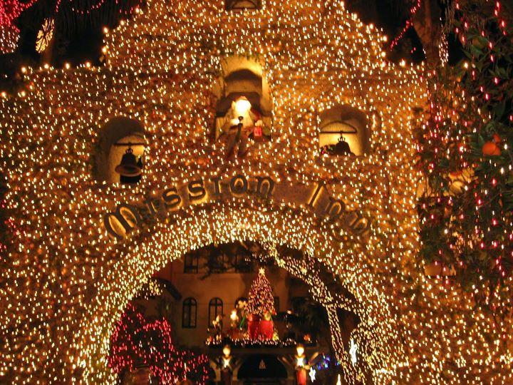 christmas dinner with festival of lights mission inn hotel - Mission Inn Christmas