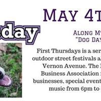 Dog Days in Del Ray- First Thursday