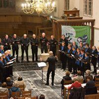 Concert van de Martens Cantorij in Muziek