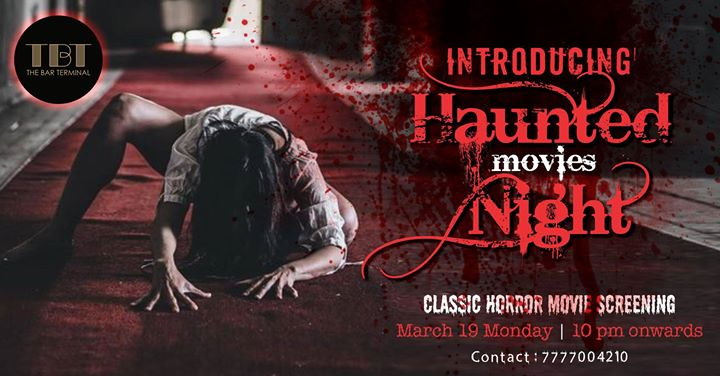 Haunted Movies Night