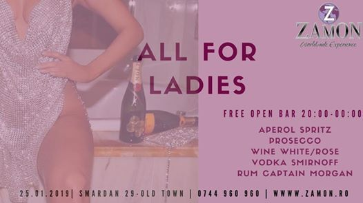 All For Ladies  Friday  Zamon