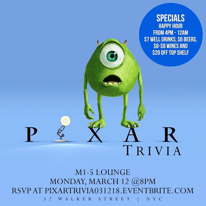 Pixar Movie Trivia