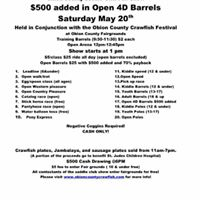 Obion County Saddle Club fun show 500 ADDED IN OPEN BARRELS