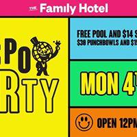 Hospo Party at The Family Hotel