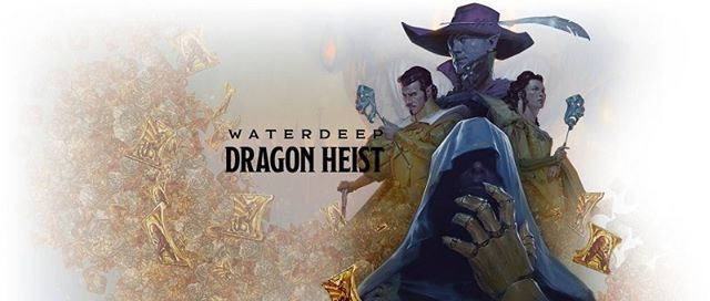 D&D Dragon Heist - sponsored by woodkraft