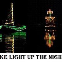 Canadohta Lake Light up the Night Boat Parade  starts at sundown