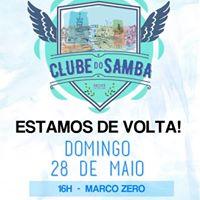 Clube do Samba de Recife no Marco Zero