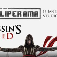 Hoje Festa Fliperama [Assasins Creed - Launch Party Oficial]