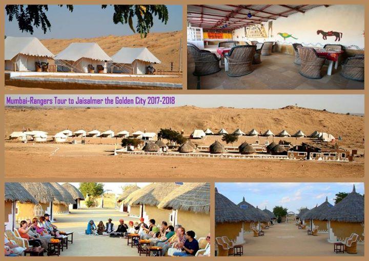 Mumbai-rangers Tour to jaisalmer 26th to 28th January 2018