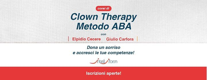 Corso di Clown Therapy  Metodo ABA - Napoli