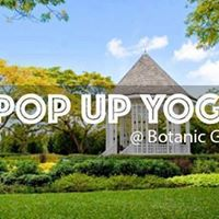 POP UP YOGA Botanic Gardens