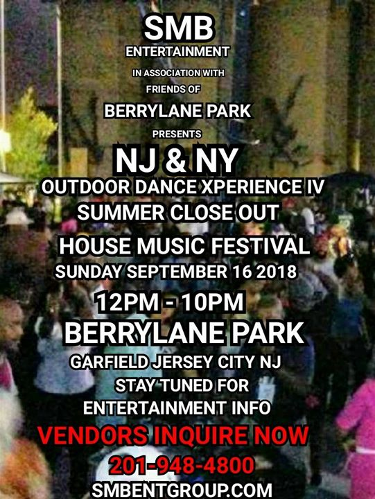 SMB NJ NY OUTDOOR DANCE XPERIENCE IV SUMMER CLOSEOUT HOUSE MUSIC ...