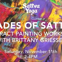 Shades of Sattva Abstract Painting Workshop with Brittany