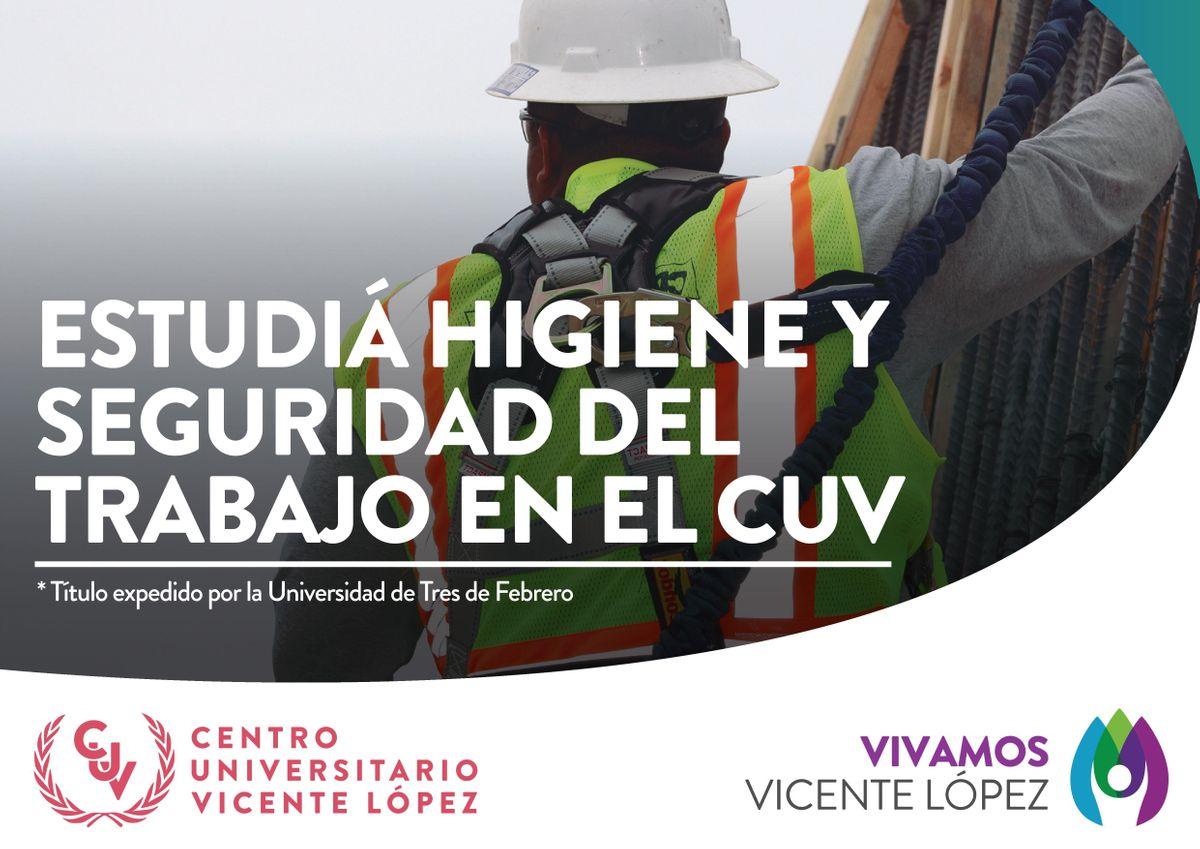 Reunin Informativa Tecnicatura en Higiene y Seguridad del Trabajo