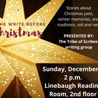 The Write Before Christmas