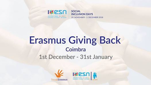 Erasmus Giving Back by ESN Coimbra