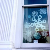 Paper Snowflake Party