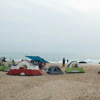 Beach camping - Camp &amp Surf - Covelong Point