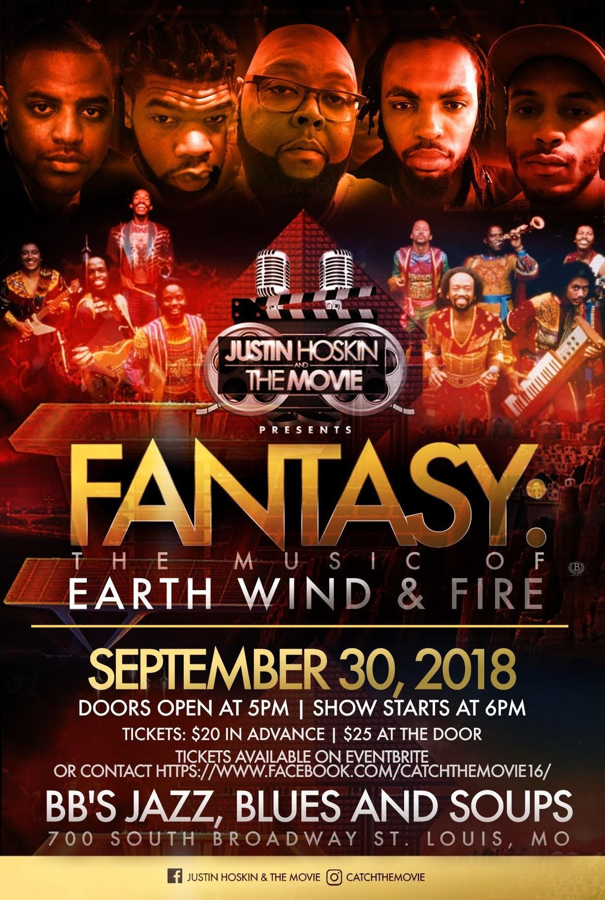 Fantasy:The Music Of Earth Wind & Fire at BB's Jazz, Blues