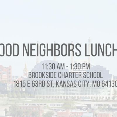 Good Neighbors Luncheon