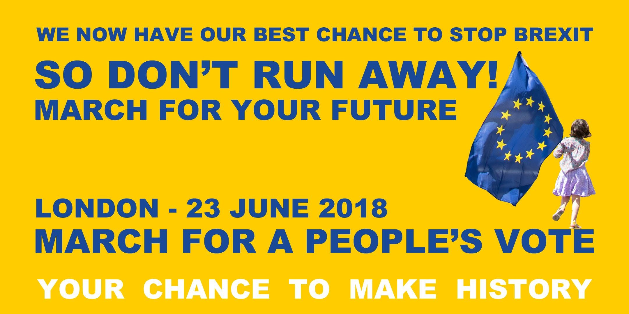 Coach Travel to London on Saturday 23 June - March for a Peoples Vote