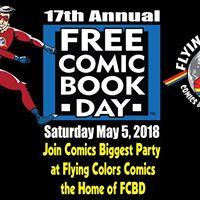 17th Annual Free Comic Book Day