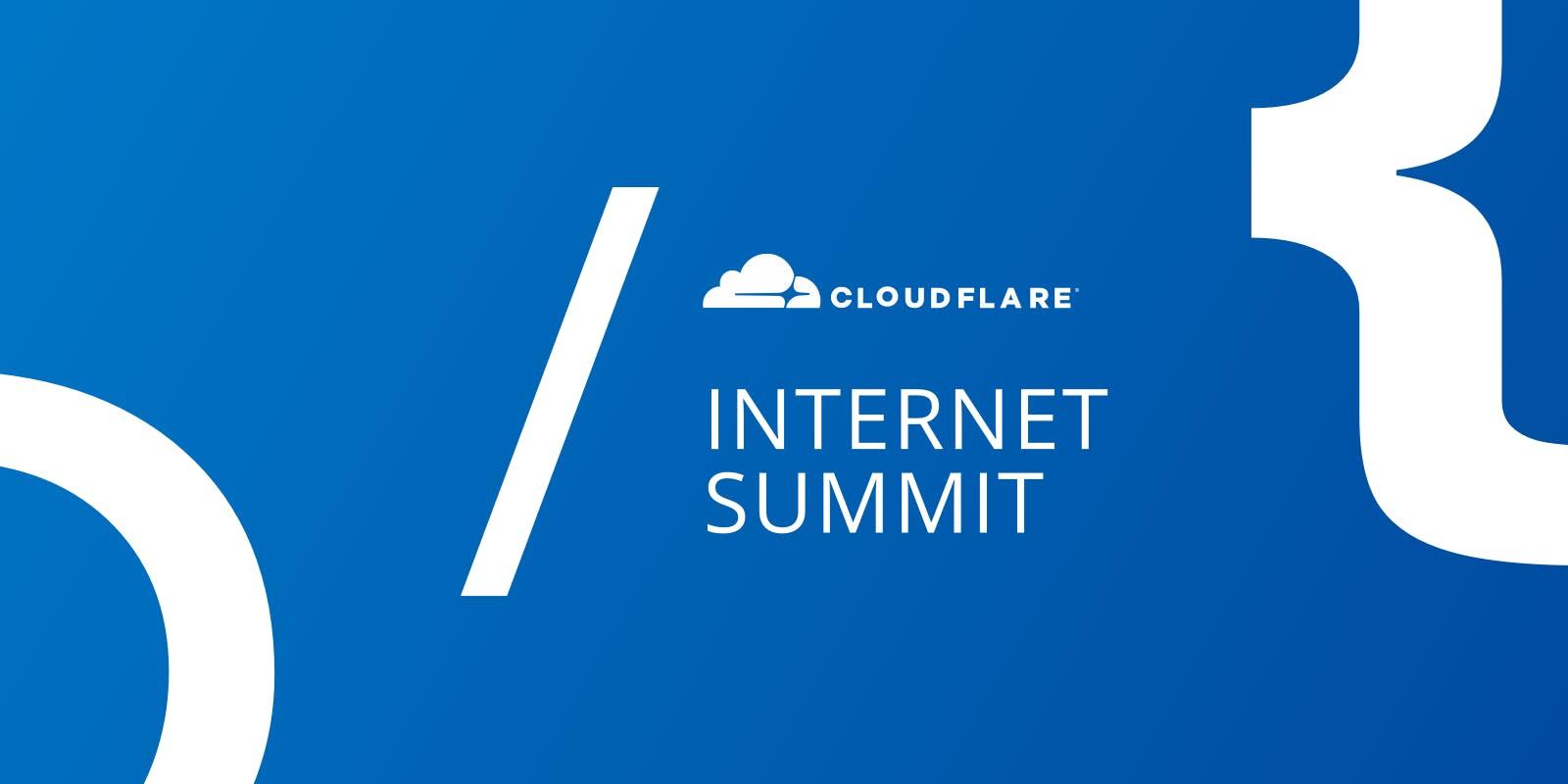 London Cloudflare Internet Summit