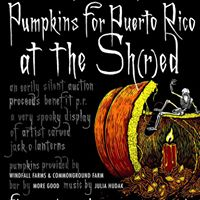 Pumpkin Shred at the Shed