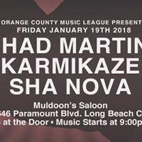 OCML Presents Sh Nova Karmikaze Chad Martini at Muldoons Saloon in LBC