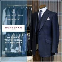 Colony Clothing presents &quotHuntsman&quot Bespoke trunk show