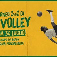 1 Torneo 2vs2 di FOOT Volley