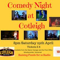 Comedy Night at Cotleigh