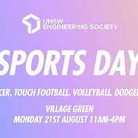 UNSW EngSoc Presents Sports Day 2017  Free BBQ