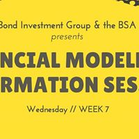 Financial Modelling Information Session