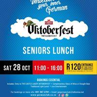 Seniors Lunch at Castle Lager Oktoberfest German Club Lorraine