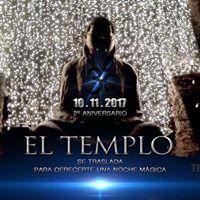 El Templo - 2 Aniversario - 10.11.2017