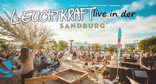 Sandburg Linz - Leuchtkraft live