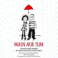 Book Launch &amp Exhibition Main Aur Tum