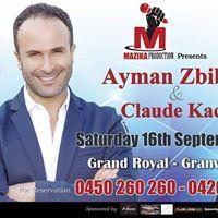 Ayman Zbib &amp Claude Kachi in concert