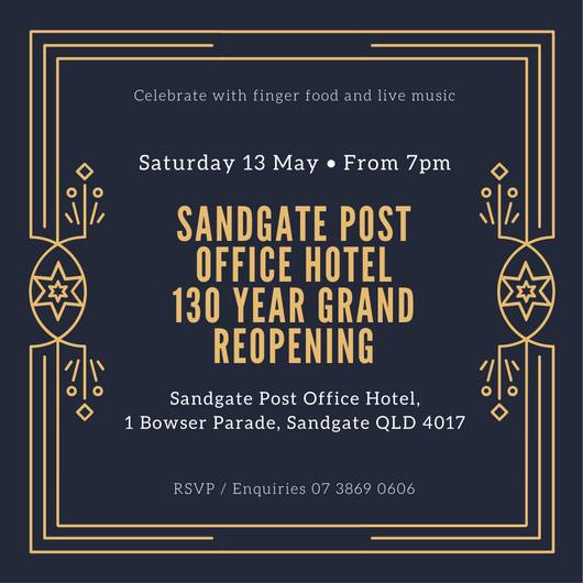 Grand Reopening - 130th Birthday Celebration at Chandelier Bar ...