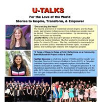 Toronto U-Talks - For the Love of the World