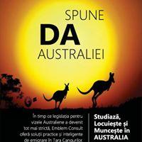 Spune DA Australiei Cluj seminar